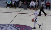 LaMelo Ball Calls Half-Court Shot, Drains It Like a Boss (Video)