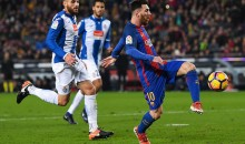 Lionel Messi Puts on Otherworldly Display in Barcelona's 4-1 Win Over Espanyol (Videos)