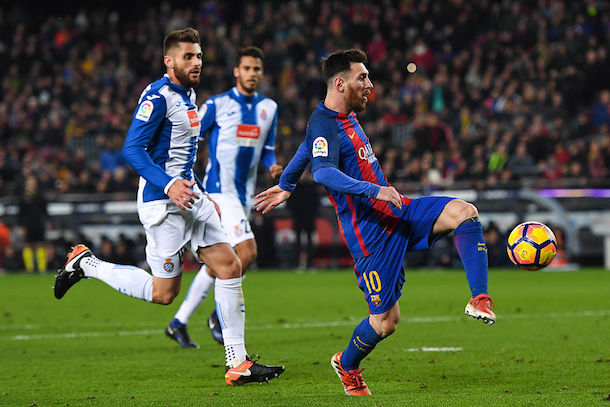 Lionel Messi vs Espanyol December 18, 2016