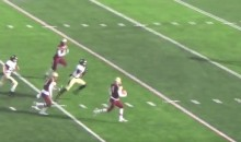 HS Running Back Breaks Off the Most INSANE TD RUN EVER! (Video)