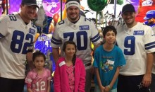 Dallas Cowboys Visit Children's Hospital to Spread Some Christmas Cheer (Video + Pics)