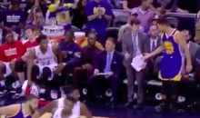 Pelicans Coach Gave Steph Curry Props for Sinking a Jumper (Video)