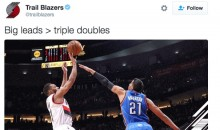 Blazers Troll Thunder & Russell Westbrook on Twitter After Big Win (Tweets)