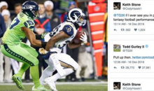 Angry Fantasy Owner Challenges Todd Gurley to a Fight on Twitter…and Now It's On (Tweets)