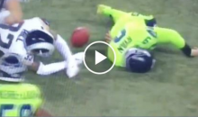 Seahawks Punter Jon Ryan Knocked Out Cold Running Ball on Fake Punt (Video)