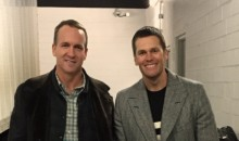 Two Best QBs of the Past 20 Years Team Up For Photo After Pats-Broncos Game (Pic)