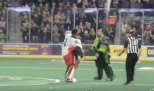 Goalies Square Off in the Indoor Lacrosse League Season Opener (Video)