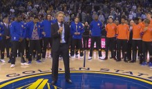 Steve Kerr Gives Moving Tribute to the Late Great Craig Sager (Video)