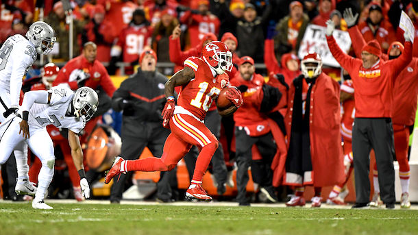 Tyreek Hill Touchdowns
