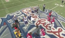 Alabama Players Decide NOT to Shake Hands With Washington After Coin Toss (Video)