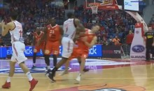 Amar'e Stoudemire Plays Basketball Like a Hockey Goon, Drills Israeli League Defender (Video)