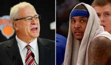 Phil Jackson Fires Shots At Carmelo Anthony 'Maybe He's Better Off Somewhere Else'; Melo Responds Back