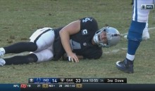 Jack Del Rio Announces Derek Carr Has a Broken Fibula & Will Require Surgery