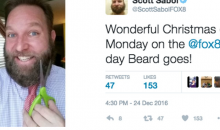 After 1st Win, Cleveland Weatherman Finally Gets to Shave His Beard