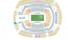 Ticket to New York Jets Game on MNF Cost Less Than a Beer Sold at The Stadium