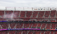 49 Fans Show Up to Watch The Jets-49ers Game (PICS)