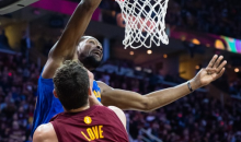 Report: Cavs Upset Durant Wasn't T'd up After Calling Kevin Love a 'Motherf*cker' After Dunk (Video)