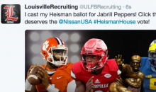 Louisville's Recruiting Account Votes Jabrill Peppers for Heisman