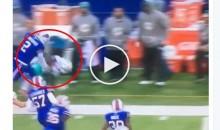 Buffalo Bills Kicker Dan Carpenter Absolutely Levels Miami KR; Then Taunts Him (Video)