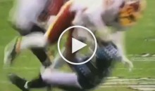 Brawl Almost breaks Out as Redskins Player Takes a Cheap Shot on Eagles' Darren Sproles (Video)