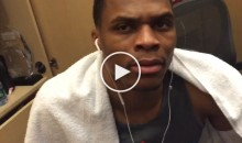 """Westbrook on 'Thank You, Kyrie' Video: """"What?? F*ck Do I Look Like, Man?"""" (Video)"""
