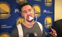 Klay Thompson Says The Warriors Gave The Cavs a 'Gift' By Letting Them Win (Video)