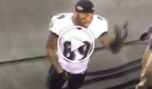 Ravens WR Steve Smith Tells Patriots Fans During Game Their Moms Can Suck His D**k (Video)