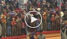 Students Raise Trump Signs, Turn Their Backs at Black Players During HS B-Ball Game (Video)