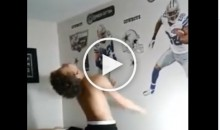Little Kid Cries Because He Wants Tony Romo to Start Over Dak Prescott & Says Dez Can't Catch (Video)