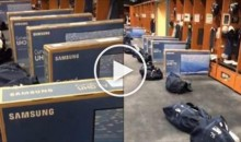 Seahawks QB Russell Wilson Gifts 1st-Class Plane Tickets & Samsung TV's For His Teammates (Video)
