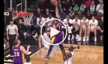 Brook Lopez's Time of Death Updated on Wikipedia After Lance Nance's Dunk (Pic + Video)