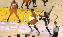 For The 2nd Time in Less Than a Week, Draymond Green Kicks Another Player (Video)