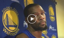 Durant Says He Was Clearly Tripped at The End of the Game Against Cavs (Video)