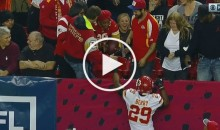 After Eric Berry's Pick-6, He Made Sure His Mom Got The Ball (Video)