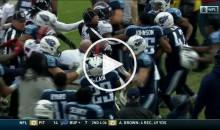 Denver Broncos CB Aqib Talib Gets Into Scuffle, Brawl Ensues (Video)