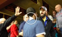 Ohio High School Basketball Parents/Students Brawl In The Stands (Video)