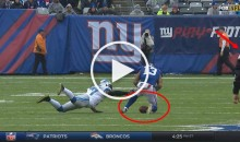 Refs Award Odell Beckham a Catch After He Clearly Dropped The Ball (Video)