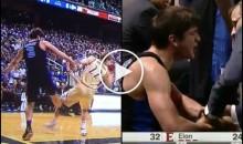 Duke's Grayson Allen Intentionally Trips Opponent, Throws Temper Tantrum on Bench (Video)