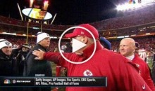Jack Del Rio Gives Andy Reid a Death Stare After Raiders Lose to Chiefs (Video)