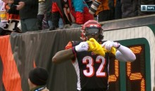 After The Game, Jeremy Hill Tells Steelers Fan: 'F*ck Yall (Terrible) Towel'