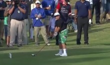 John Daly's Son, 13-Year-Old John Daly II, Can Crush the Ball Off the Tee Just Like His Old Man (Video)