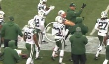 Pats WR Julian Edelman Shoved a Jets Assistant Coach And Yelled At Another On Sideline (Video)