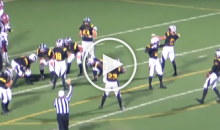HS Football Team Does Mannequin Challenge in The Middle of Their Playoff Game (Video)
