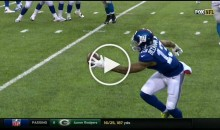 Odell Beckham Jr. With One-Handed TD Catch Against Lions (Video)