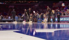 76ers Game Cancelled Due to Wet Floor, Proving It's Not Just the Players Who Are Incompetent (Video + Pics)