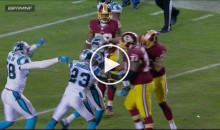 Redskins TE Jordan Reed Throws Punch, Gets Ejected (Video)