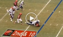 Robert Griffin III Leaves Game With Injury After Taking Big Hit To The Head (Video)