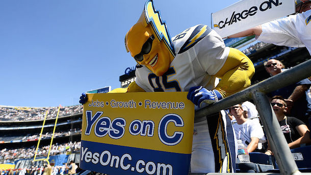 Chargers relocating