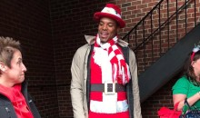 Santa Cam Was Spreading Christmas Cheer All Around Charlotte on Tuesday (Video + Pics)