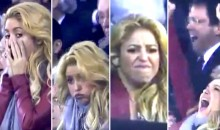 Shakira Was in a Glass Case of Emotion During El Clasico, and It's Just the Best (Video)